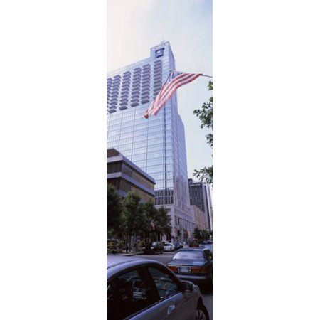 Skyscraper in a city PNC Plaza Raleigh Wake County North Carolina USA Canvas Art - Panoramic Images (36 x 12)