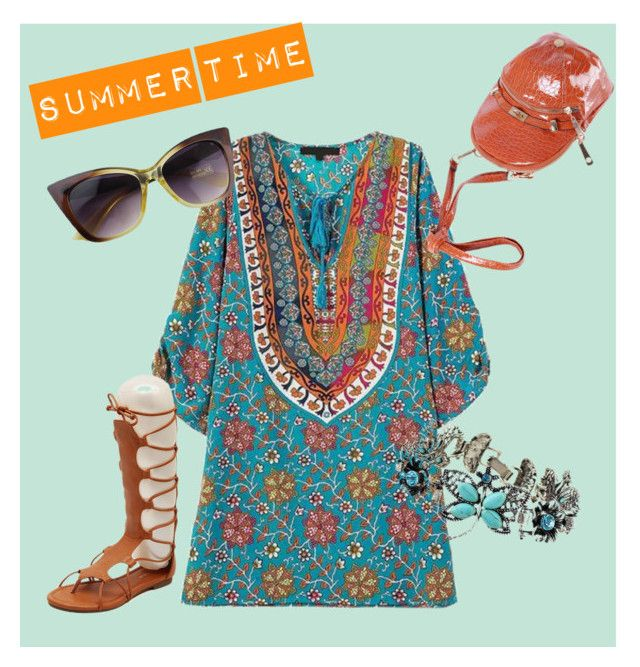 """Summer Time"" by diana-pelaez on Polyvore"