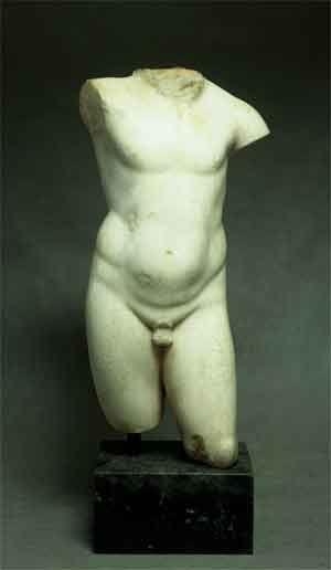 Амур. Древний Рим. I век. Мрамор. ГМУА