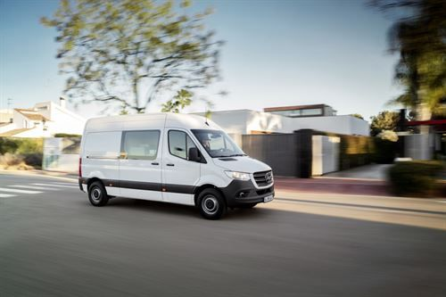 Mercedes-Benz has launched its all-new Sprinter van, which will be used by motorhome and campervan manufacturers as abase for their new models