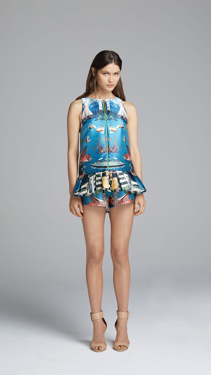 """""""Love and be Brave"""" Playsuit by Alice McCall $380.00 