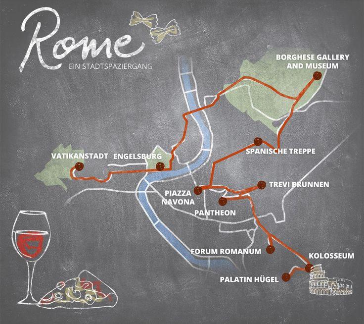 Städtetrip nach Rom, in die ewige Stadt? Dann kommt mit mir auf einen Rundgang durch Italiens Hauptstadt, ich zeige euch die Top Sehenswürdigkeiten in Rom!