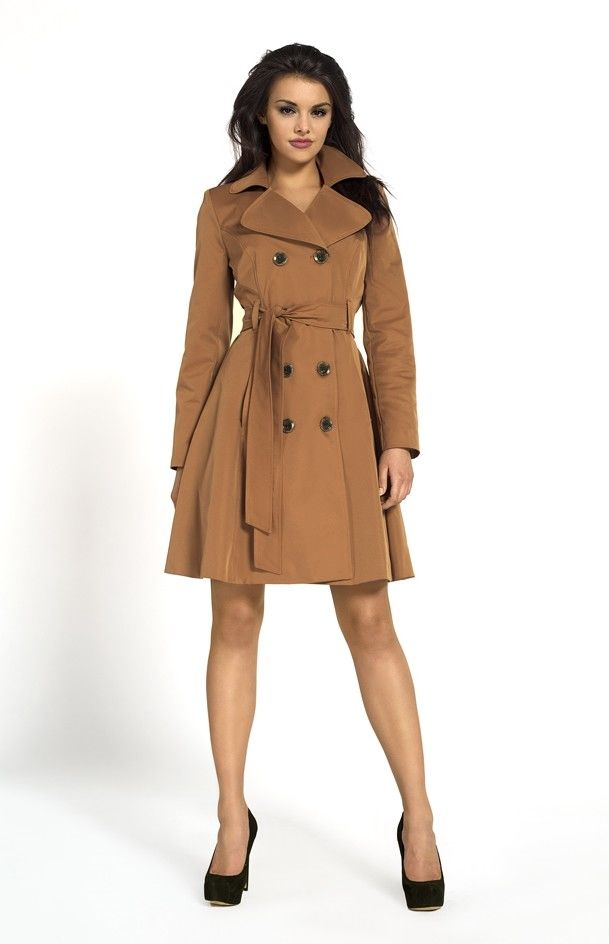 woman camel trenchcoat cherbourg amazing coats pinterest trench brown and camel