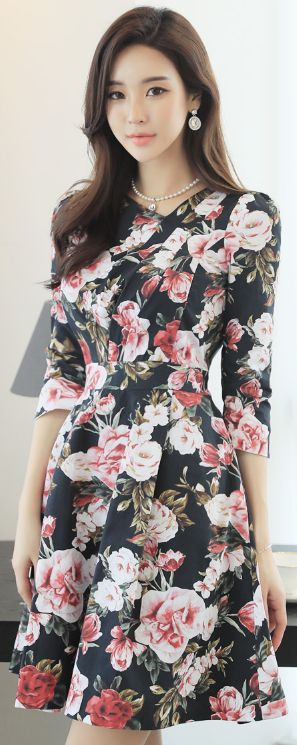 Florals on black--I love!