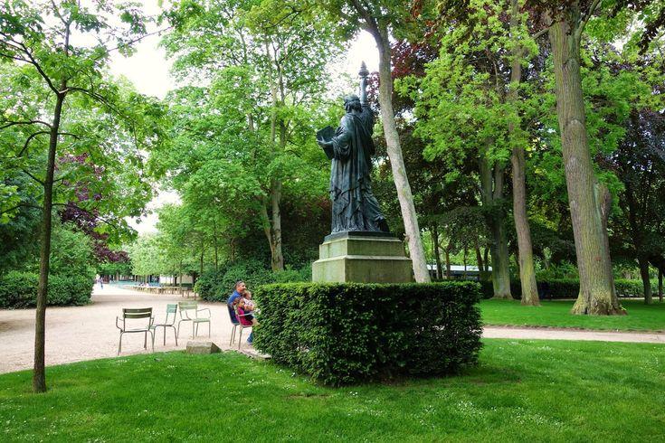 1000 id es sur le th me statues de jardin sur pinterest - Statue de la liberte jardin du luxembourg ...
