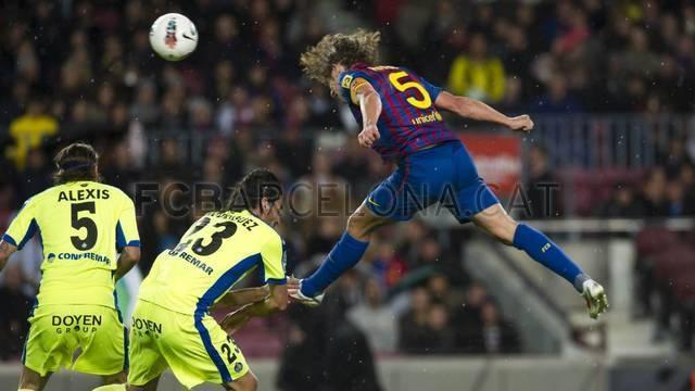 FcBarcelona - Getafe (Liga BBVA)    Carles Puyol #Puyol