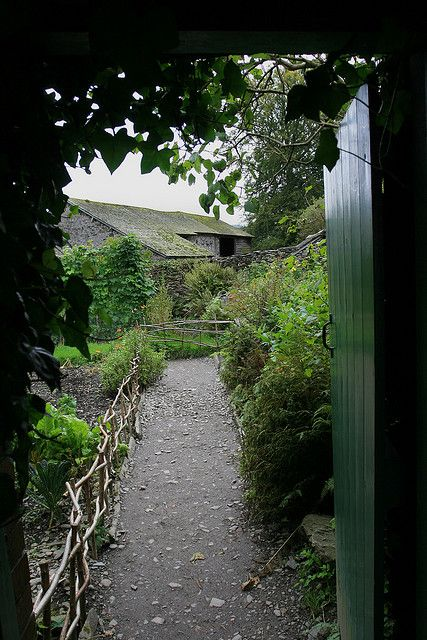 Welcome to Mr. McGregor's garden! At Beatrix Potter's Hill Top Farm, Cumbria Lake District, England, UK | -- by tguttilla, via Flickr