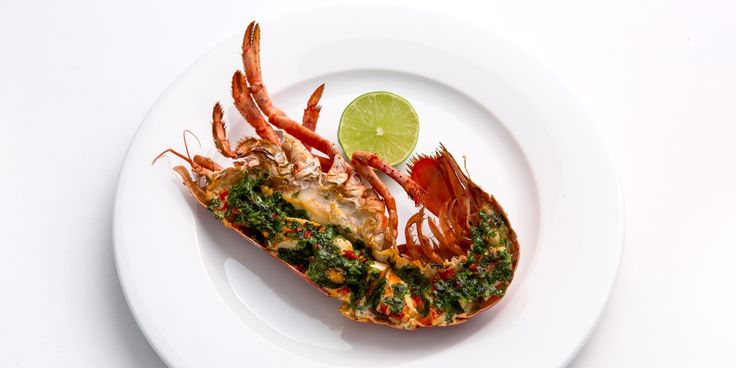 Award-winning Welsh chef Bryan Webb supplies the perfect grilled lobster recipe, served with an excellent spicy butter