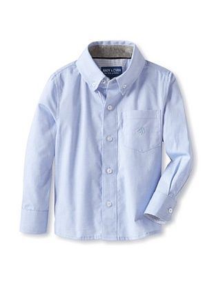 63% OFF Andy & Evan Boy's 2-7 Boy Shirt (Light/Pastel Blue)