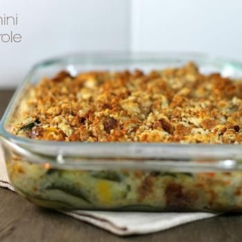 Zucchini Casserole I have one similar to this, but like this on with yogurt instead of sour cream.......so will try before summer is over.