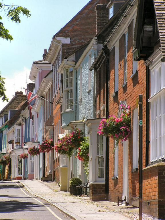 Broad Street, Alresford, Hampshire, England