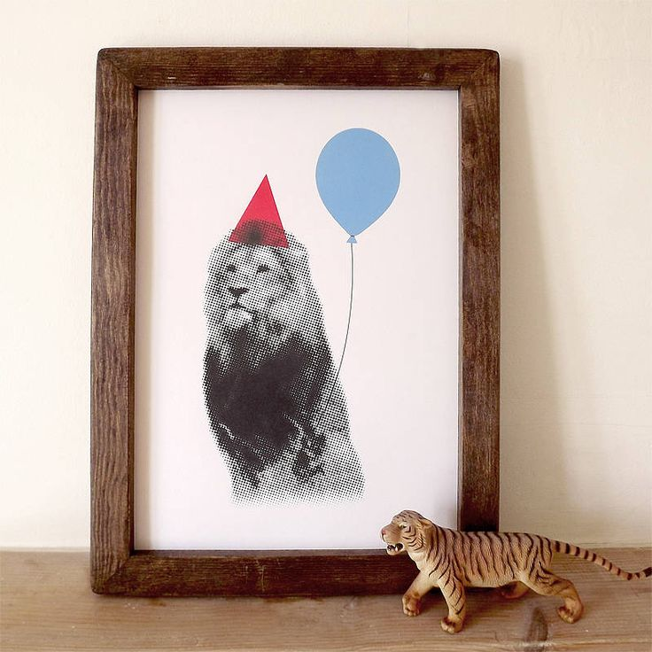 Altered animal print for party decor