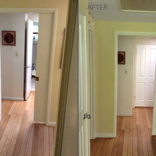 Notice the sliding door was also replaced with along with the other two doors in this & 95 best Before u0026 After Photos - Amazing Transformations by HomeStory ...