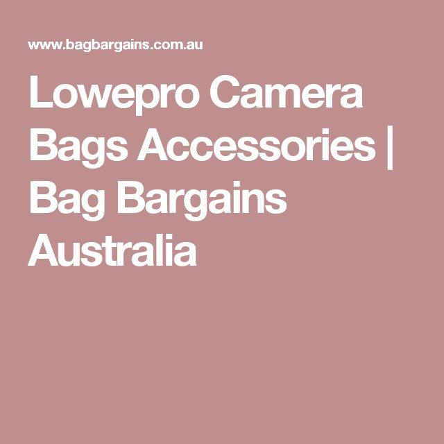 Lowepro Camera Bags Accessories | Bag Bargains Australia