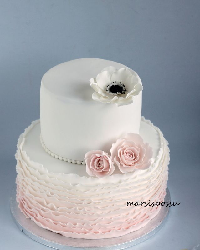 Marsispossu: Röyhelökakku ristiäisiin, Ruffle cake