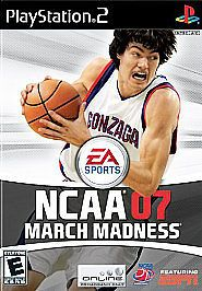 NCAA March Madness 07 PS 2, Excellent PlayStation2, Playstation 2 Video Games #ElectronicArts