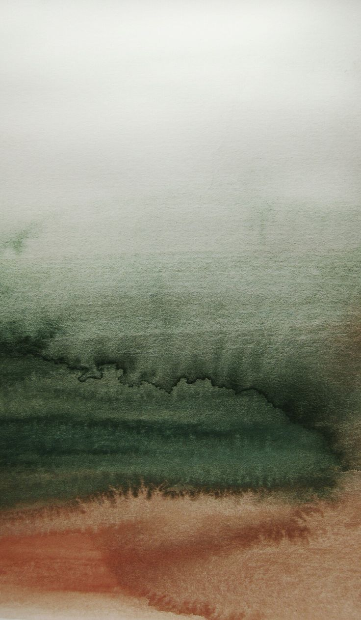 Abstract watercolour landscape background.