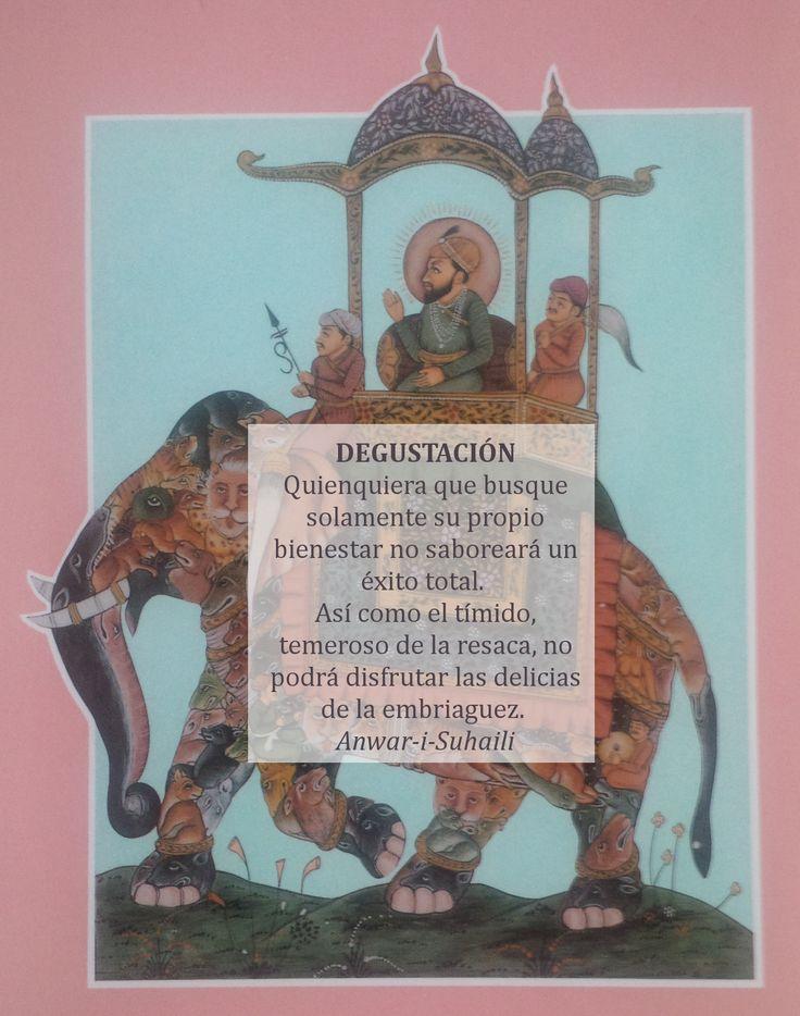 #sufismo Degustación:
