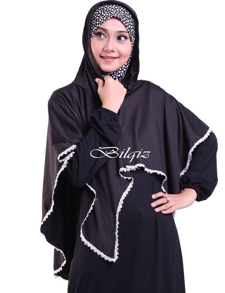 Jilbab Syar'i Modis Hoodie