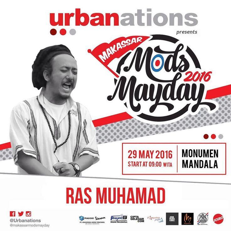 Urbaners skuter kalian udah ready buat Makassar Mods May Day 2016? . . . . . . . . . #urban #urbanations #mayday #kotamakassar #makassarevents #mkskeren #mksupdate #makassarevent #makassarevent2016 #konvoi #skuter #komunitasvespa #kutuvespa #vespaclassic #vespaindonesia #vespacowboysmakassar #vespasuper #scooterindonesia #myscooter #vespagram #vespainsta #vespacowboys #vespamania #scooterist #modsmayday2016 by urbanations