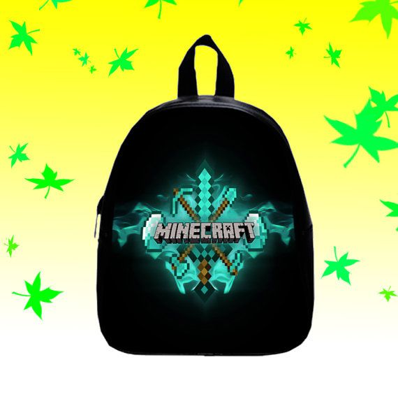Diamond Minecraft  Backpack/SchoolBags for Kids. by FACIALBAG
