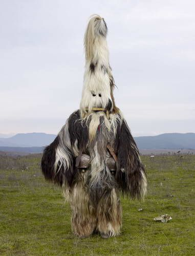Bizarre Tribal Costumes From European Pagan Rituals Still Practiced Today - DesignTAXI.com