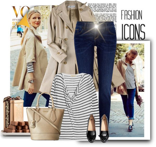 """jeans and stripes"" by bodangela on Polyvore"