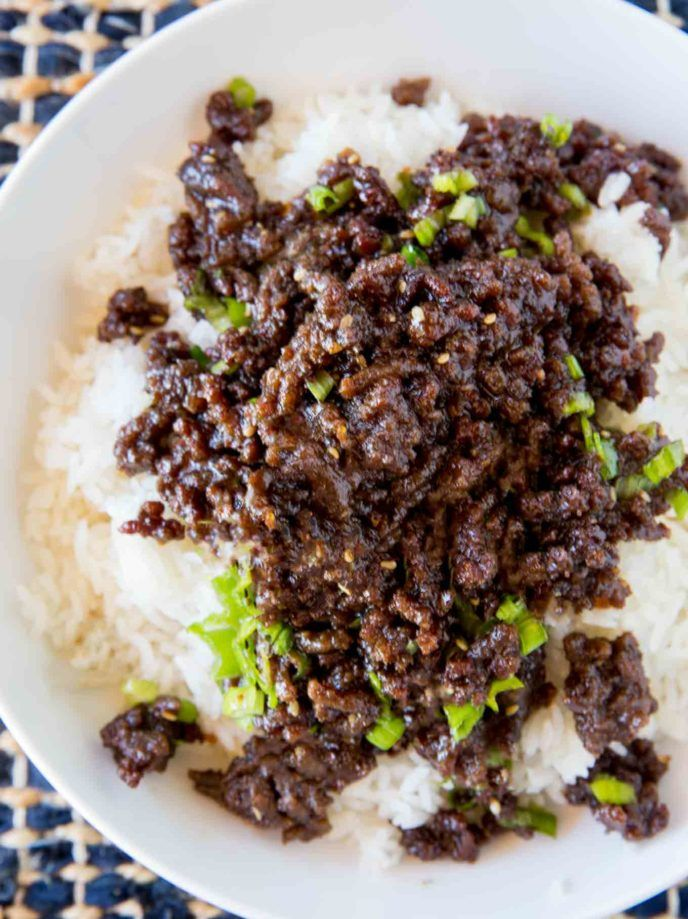 Sweet And Spicy Korean Ground Beef With All The Flavors Of Your Favorite Korean Bbq But For A Third Of The C Korean Ground Beef Beef Recipes Beef Pasta Recipes