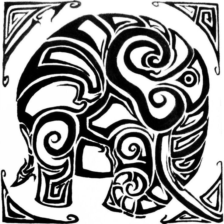 Wallpapers Tribal Animals Animal Tattoo 1024x1024: 25+ Best Ideas About Tribal Elephant Tattoos On Pinterest