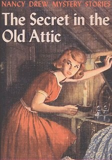 Loved to read Nancy Drew Books when I was growing up----Vintage Nancy Drew book covers