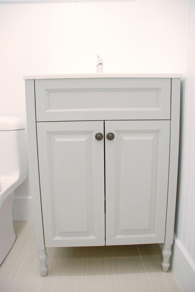 Best Vanity Benjamin Moore Hc 169 Coventry Gray Bathrooms 400 x 300