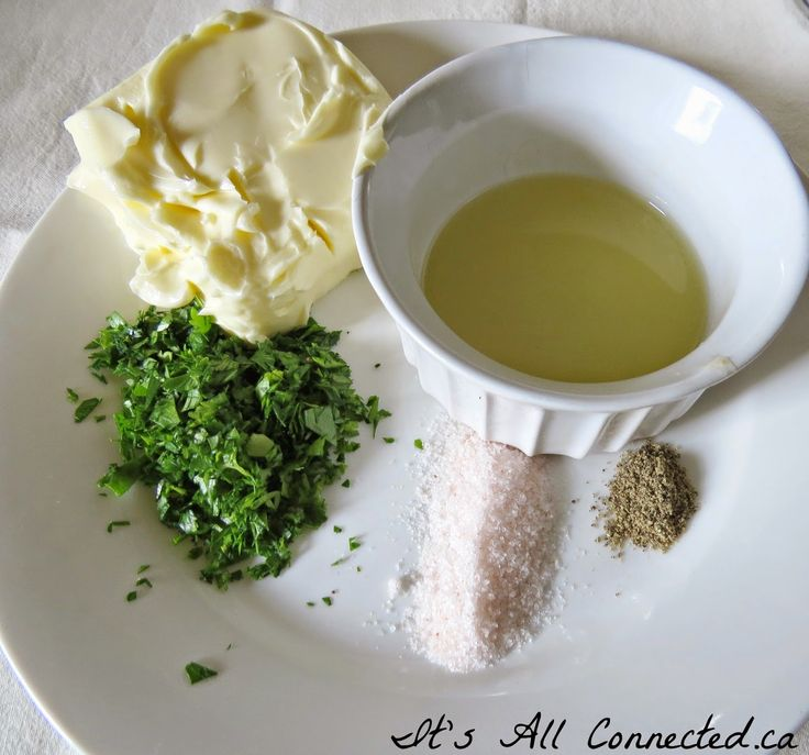 It's All Connected: Gourmet Herb Butter For Steak