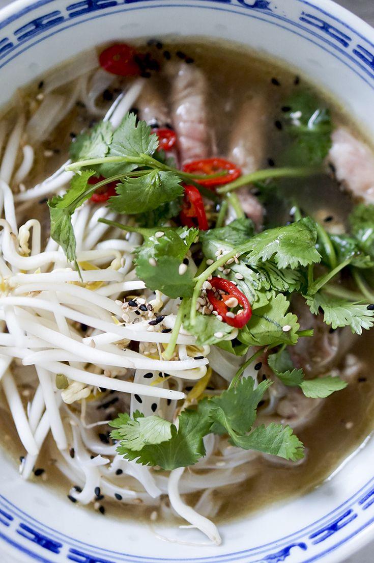 die besten 25 pho suppe ideen auf pinterest pho suppe vietnam und pho rezept. Black Bedroom Furniture Sets. Home Design Ideas