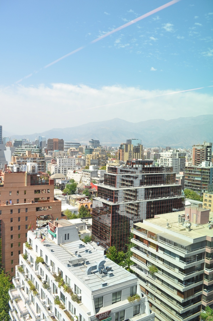 View of Santiago- Chile