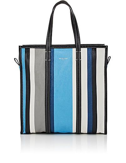 Balenciaga Arena Leather Bazar Medium Shopper Tote Bag - Tote Bags - 505195942