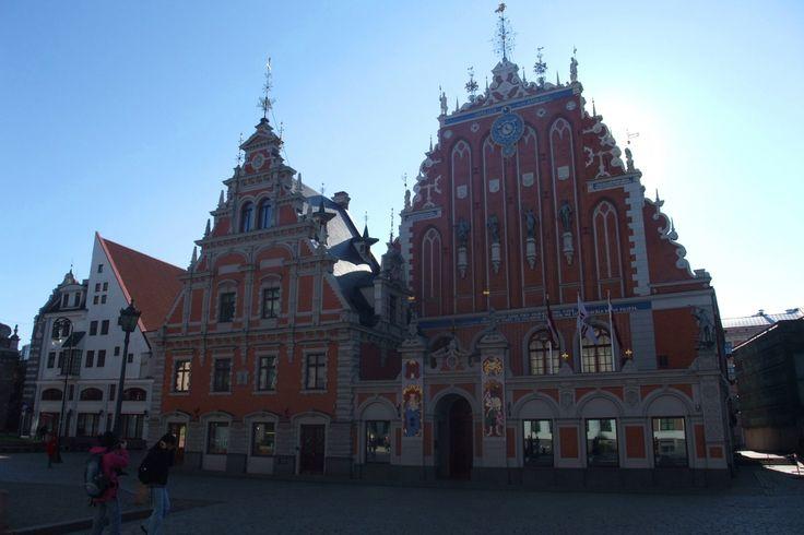 La maison des têtes noires (Melngalvju nams). Riga.