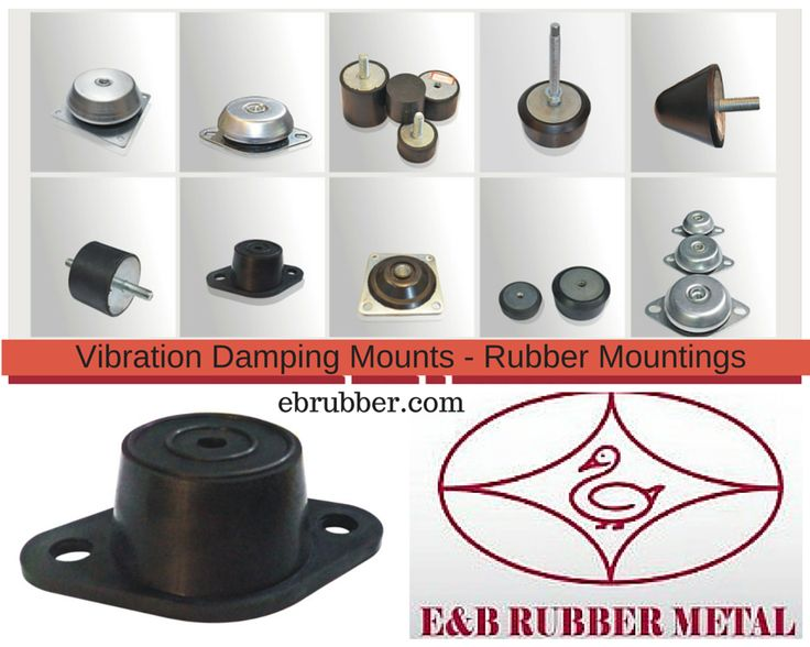 88 best images about anti vibration buffers on pinterest for Vibration dampening motor mounts