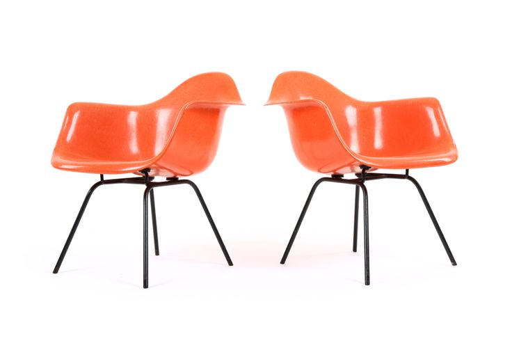 Early Eames DAX Chairs for Herman Miller