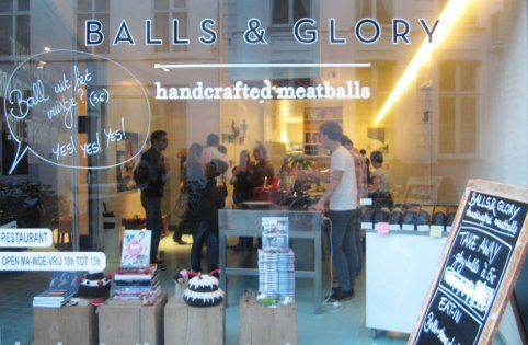 Balls & Glory : Handcrafted Meatballs - Sint-Jacobsnieuwstraat 103 - 9000 Ghent - Belgium - Tel : +32 (0) 486 67 87 76 - www.ballsnglory.be - Open weekdays from 10am to 3pm.