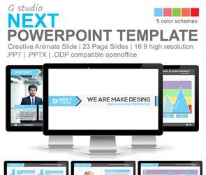 13 best powerpoints images on pinterest presentation layout gstudio next powerpoint template toneelgroepblik Gallery