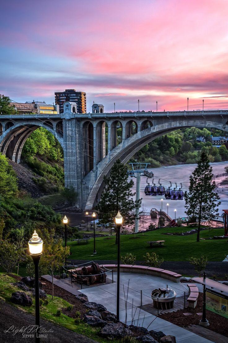 Riverside, Spokane, Washington