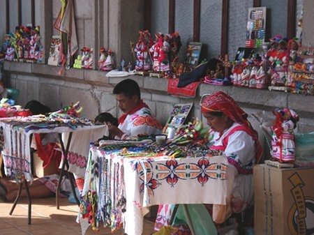 Cora Indians(sound familiar anyone..??) where my dad is from- Nayarit. can't wait to visit again.