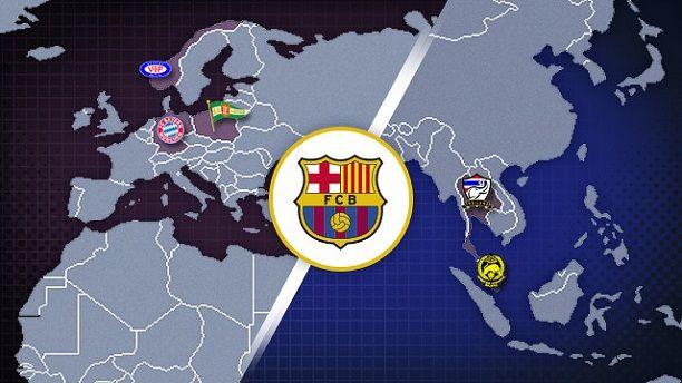FC Barcelona - Todos los partidos de la pretemporada, calendario 2013-2014   FC Barcelona Noticias