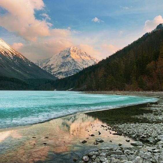 Natural wonders. Lake Kucherla, Kazakhstan