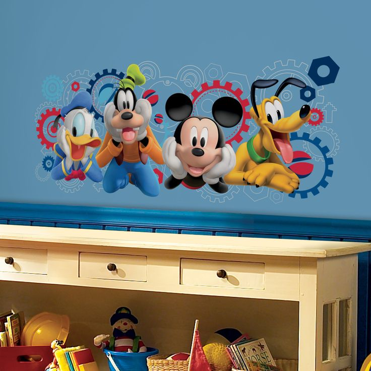 Mickey And Friends Mickey Mouse Clubhouse Capers Giant Wall Decal Part 57