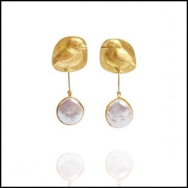 Linda Kindler Priest - Chick Earrings