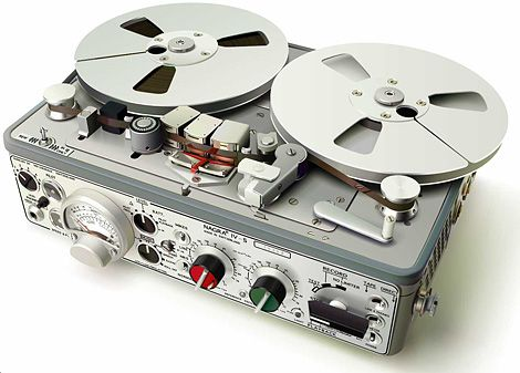The Nagra IV-S professional tape recorder – a classic example of form and function in perfect harmony. #WANT