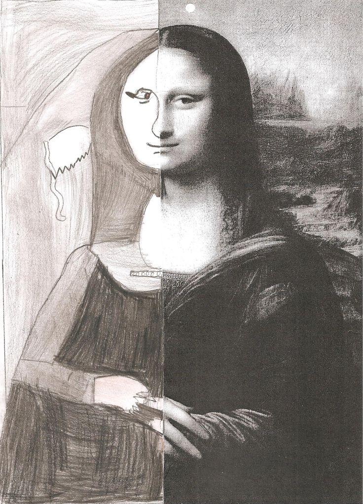 La moitié de Mona Lisa
