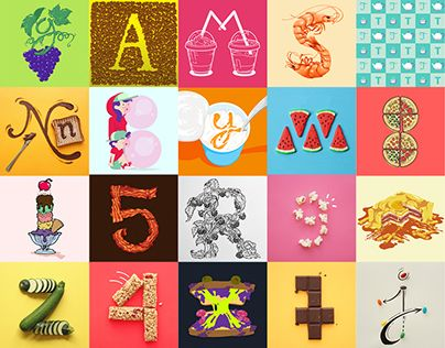 """Check out new work on my @Behance portfolio: """"36 Types of Snacks"""" http://on.be.net/1Mc56R8"""