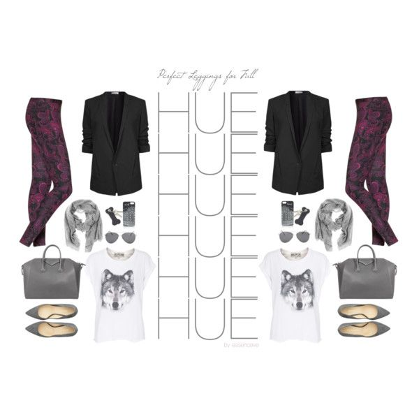 """""""HUE + You: Perfect Leggings for Fall"""" by essenceve on Polyvore"""